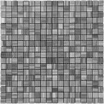 Bardiglio Scuro Marble 5/8x5/8 Polished Mosaic Tile - TILE AND MOSAIC DEPOT
