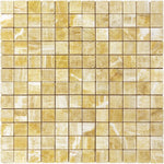 Honey Onyx 2x2 Polished Mosaic Tile - TILE AND MOSAIC DEPOT