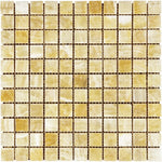 Honey Onyx 1x1 Polished Mosaic Tile - TILE AND MOSAIC DEPOT