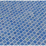 Hawaiian Beach 1X1 Staggered Glass Mosaic Tile - TILE AND MOSAIC DEPOT