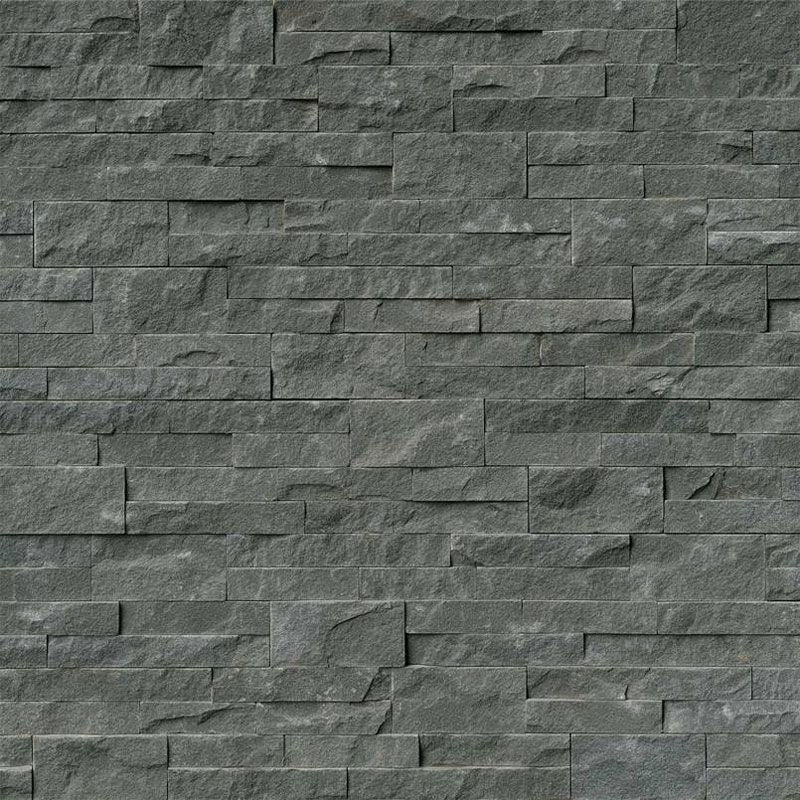 Mountain Bluestone 6x24 Stacked Stone Ledger Panel - TILE AND MOSAIC DEPOT