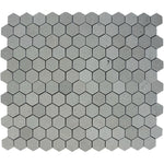 Spanish Grey Marble 2x2 Hexagon Polished Mosaic Tile