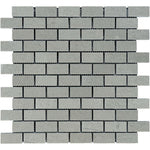 Spanish Grey Marble 1x2 Polished Mosaic Tile