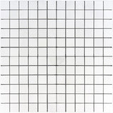 Thassos White Marble 2x2 Honed Mosaic Tile - TILE AND MOSAIC DEPOT