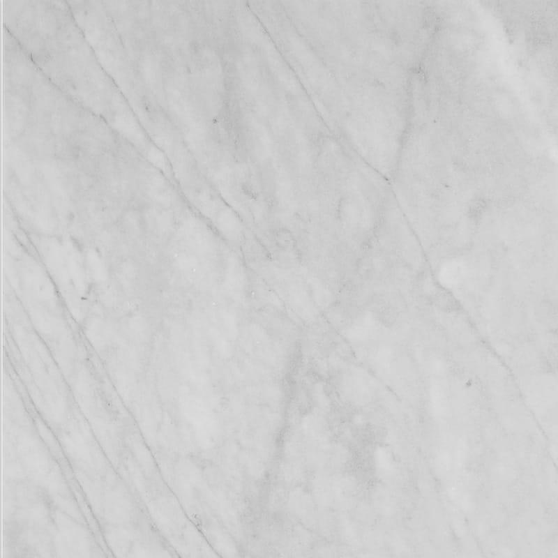 Bianco Amalfi Marble 18x18 Honed Tile - TILE AND MOSAIC DEPOT