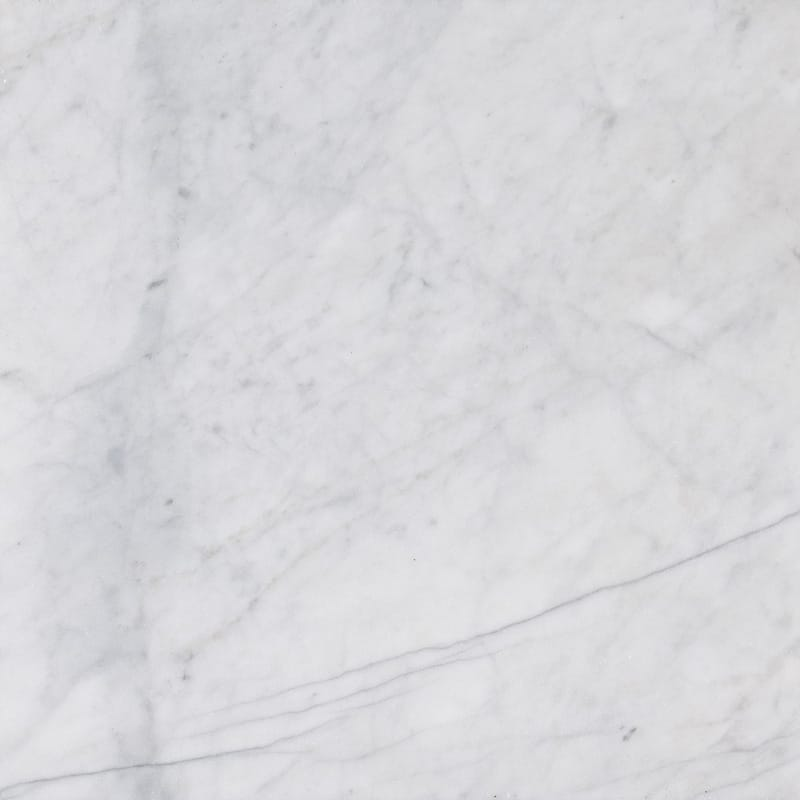 Bianco Amalfi Marble 12x12 Honed Tile - TILE AND MOSAIC DEPOT