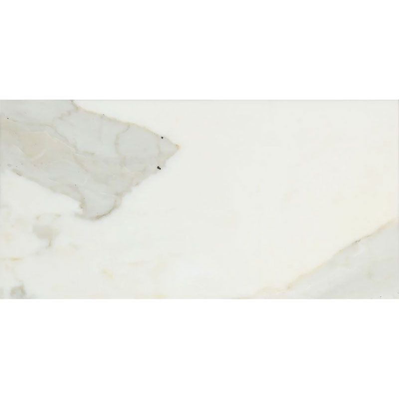 Calacatta Gold Marble 6x12 Honed Marble Tile - TILE AND MOSAIC DEPOT