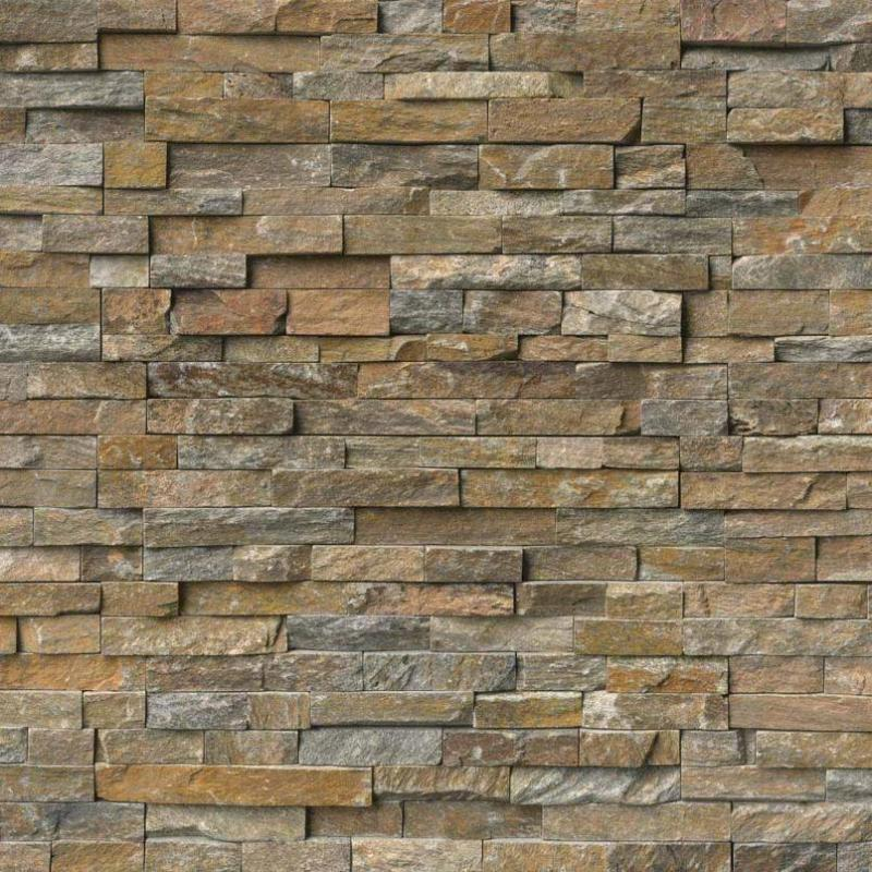 Canyon Creek 6x24 Stacked Stone Ledger Panel - TILE AND MOSAIC DEPOT