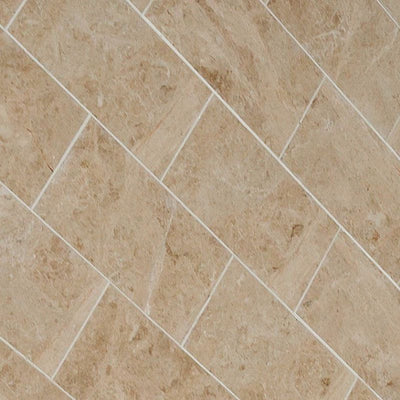 Cappuccino Marble 12x24 Polished Tile - TILE AND MOSAIC DEPOT