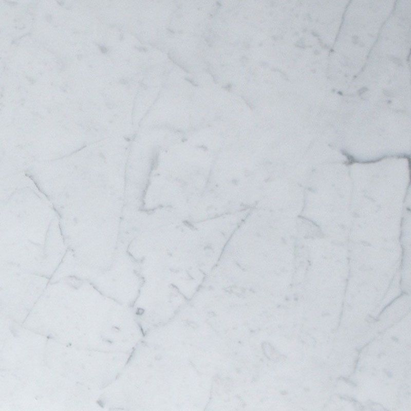 White Carrara Marble 4x4 Polished Tile - TILE AND MOSAIC DEPOT
