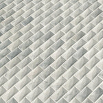 White Carrara Jewel Cut Special Design Mosaic Tile - TILE AND MOSAIC DEPOT