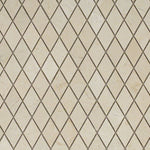 Crema Marfil Marble 1x2 Diamond Polished Mosaic Tile - TILE AND MOSAIC DEPOT