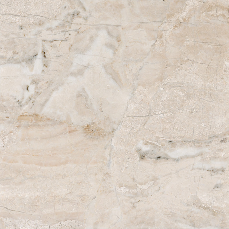 Royal Beige Marble 12x12 Polished Tile - TILE AND MOSAIC DEPOT