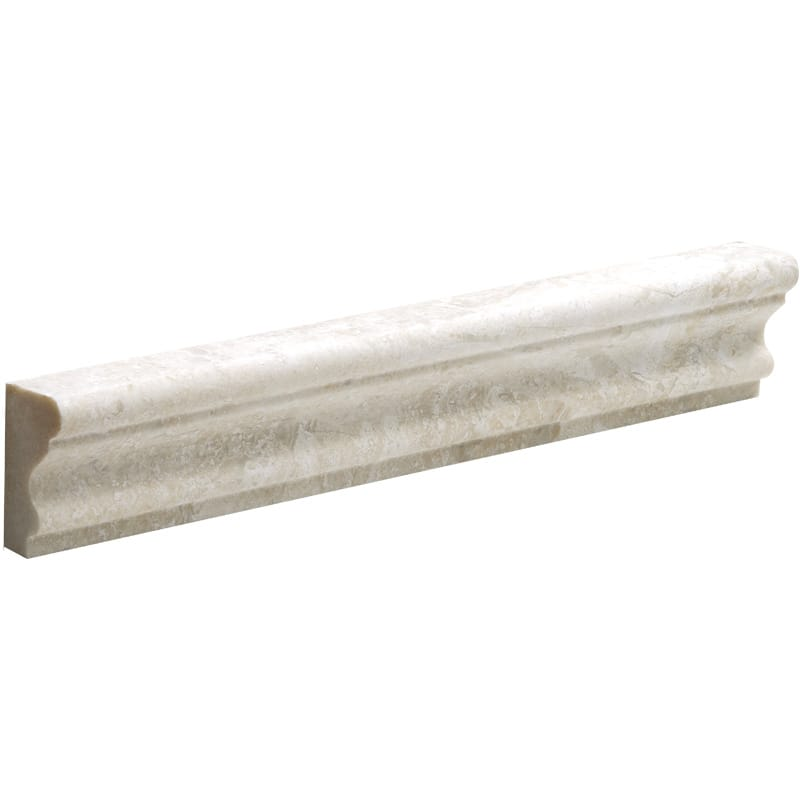 Royal Beige Marble 2x12 Polished Crown Molding - TILE AND MOSAIC DEPOT