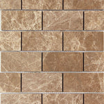 Emperador Light Marble 12x24 Polished Tile - TILE AND MOSAIC DEPOT