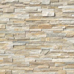 Honey Gold 6x24 Stacked Stone Ledger Panel - TILE & MOSAIC DEPOT