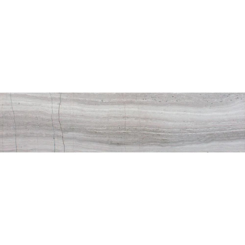 Haisa Light (White Oak) Marble 6x24 Honed Tile - TILE AND MOSAIC DEPOT