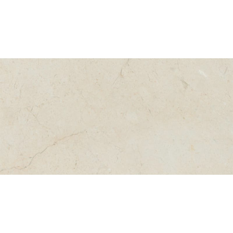 Crema Marfil Select Marble 12x24 Polished Tile - TILE AND MOSAIC DEPOT