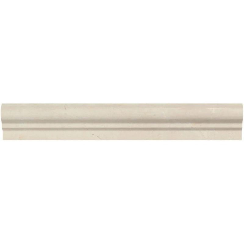 Crema Marfil Marble 2x12 (1 Step) Chairrail Polished - TILE AND MOSAIC DEPOT