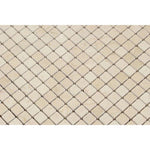 Crema Marfil Marble 5/8x5/8 Polished Mosaic Tile - TILE AND MOSAIC DEPOT