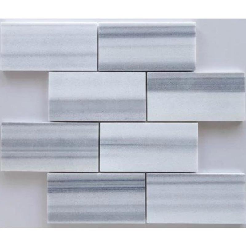 Marmara Marble 3x6 Polished Tile - TILE AND MOSAIC DEPOT
