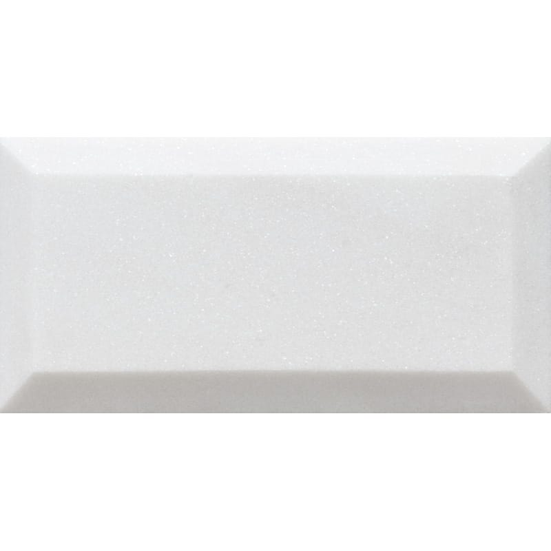 Mont Blanc White Marble Honed Subway Tile - TILE AND MOSAIC DEPOT