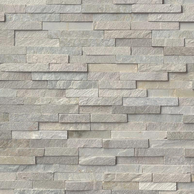 Sierra Blue 6x24 Stacked Stone Ledger Panel - TILE AND MOSAIC DEPOT