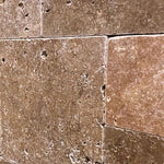 Noce Travertine Tumbled Versailles Pattern Tile - TILE AND MOSAIC DEPOT