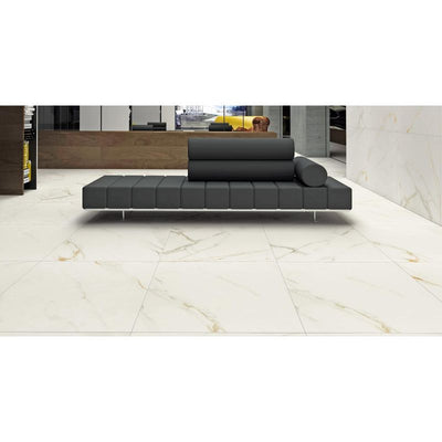 Royal Calacatta 24x48 Polished Rectified Porcelain Tile