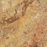 Scabos Travertine 4x4 Tumbled Tile - TILE AND MOSAIC DEPOT