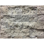 Silver Travertine 2x4 Split Face Mosaic Tile - TILE AND MOSAIC DEPOT