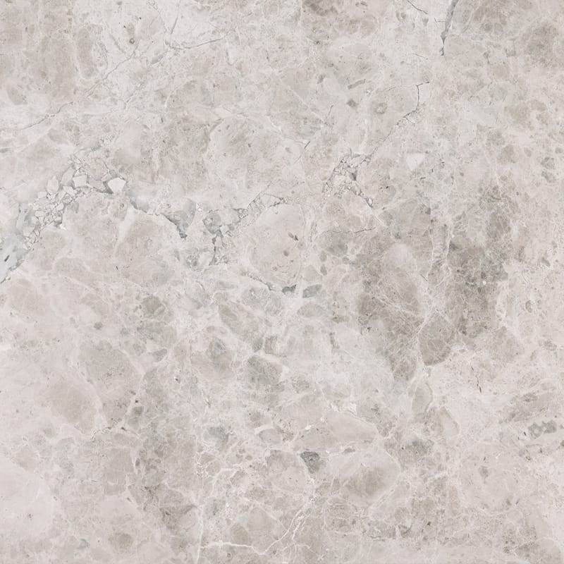 Silver Sky Marble 24x24 Polished Tile - TILE AND MOSAIC DEPOT