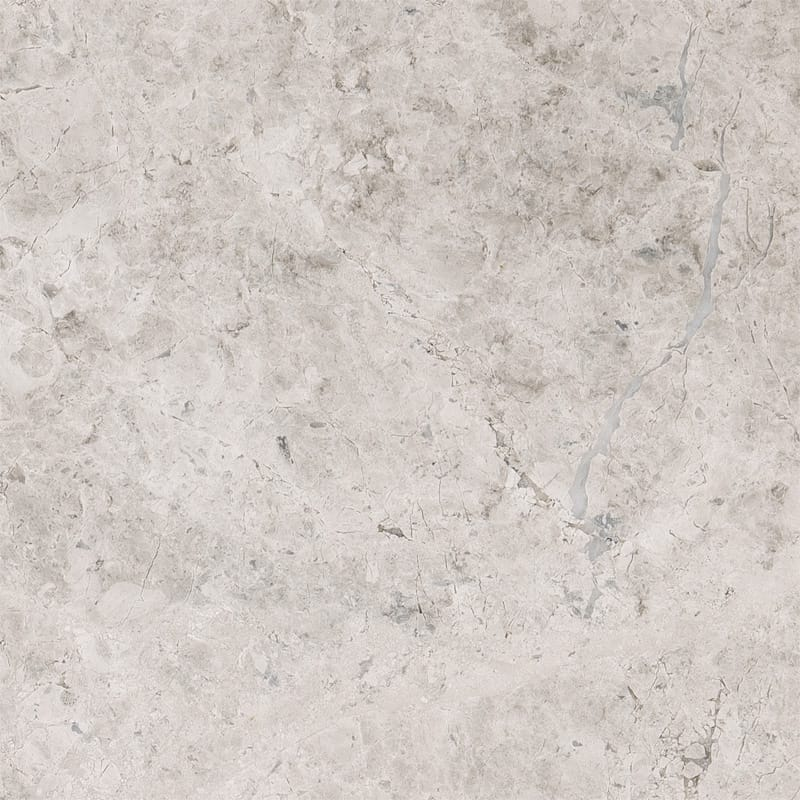 Silver Sky Marble 4x4 Honed Tile - TILE & MOSAIC DEPOT