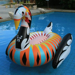 Colorful Swan Float