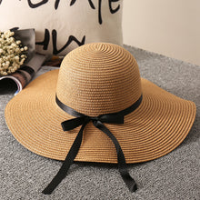 Load image into Gallery viewer, Women Straw Hat