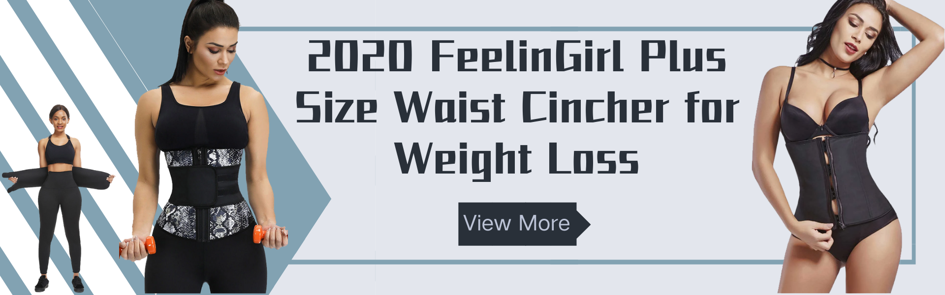 2020 FeelinGirl Plus Size Waist Cincher for Weight Loss