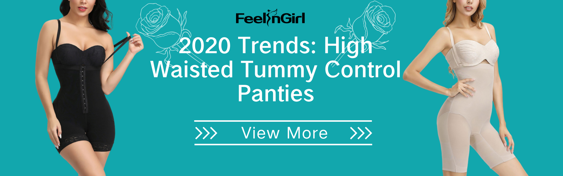 2020 Trends: High Waisted Tummy Control Panties