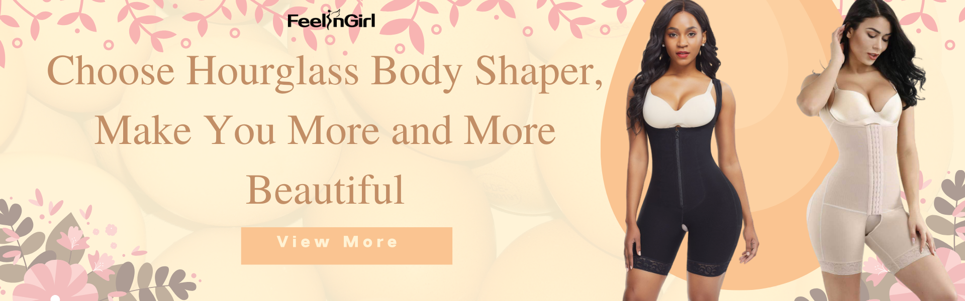 Choose Hourglass Body Shaper, Make You More and More Beautiful