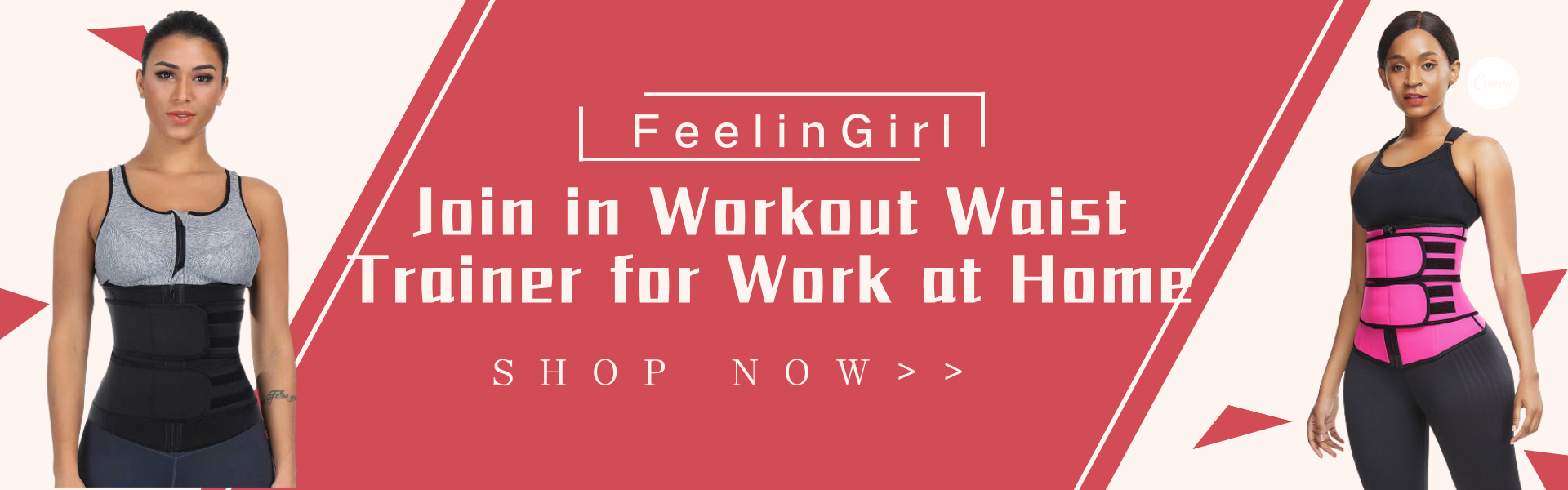 Join in Workout Waist Trainer for Work at Home