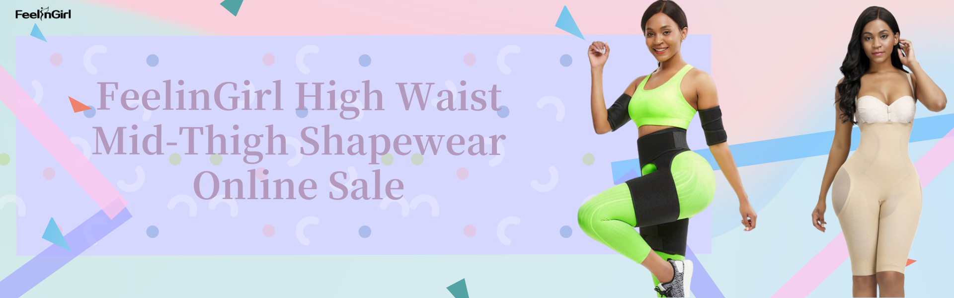 FeelinGirl High Waist Mid-Thigh Shapewear Online Sale