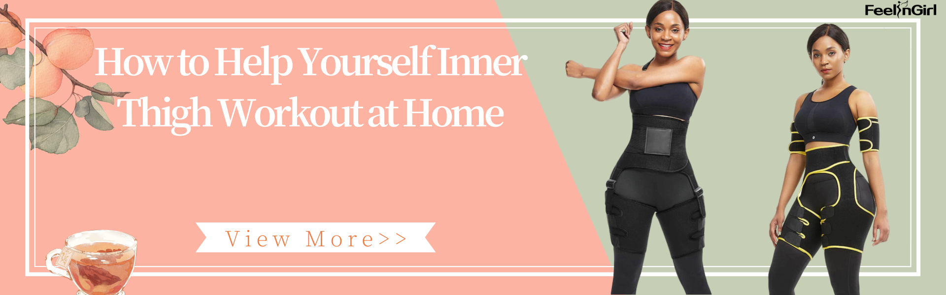 How to Help Yourself Inner Thigh Workout at Home
