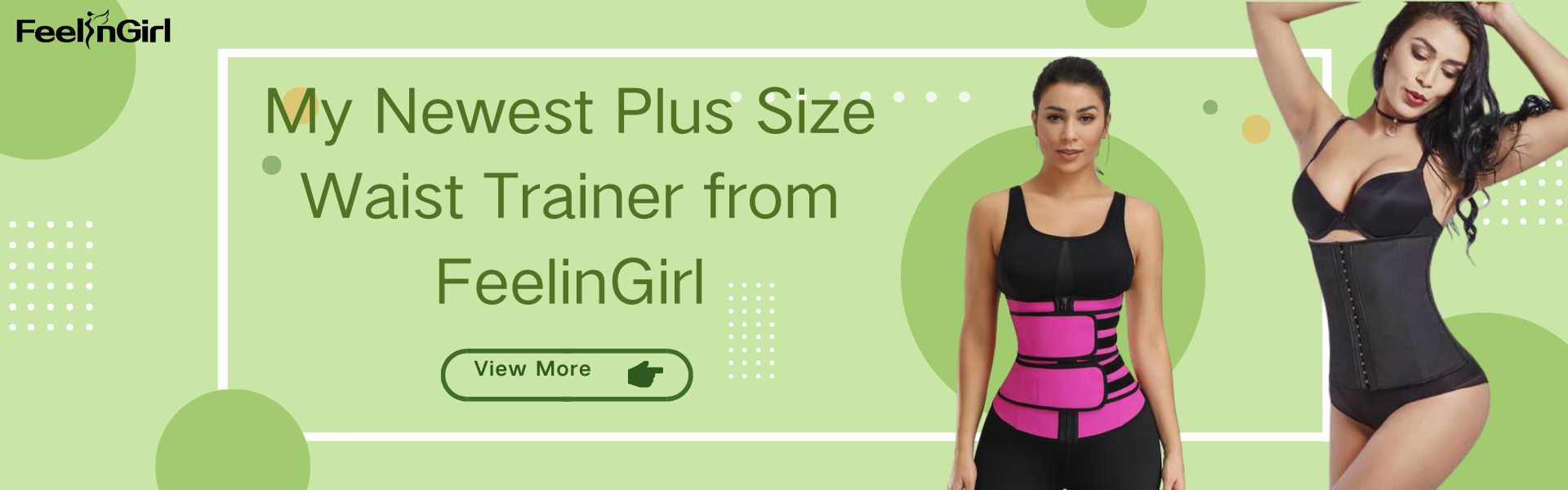 My Newest Plus Size Waist Trainer from FeelinGirl