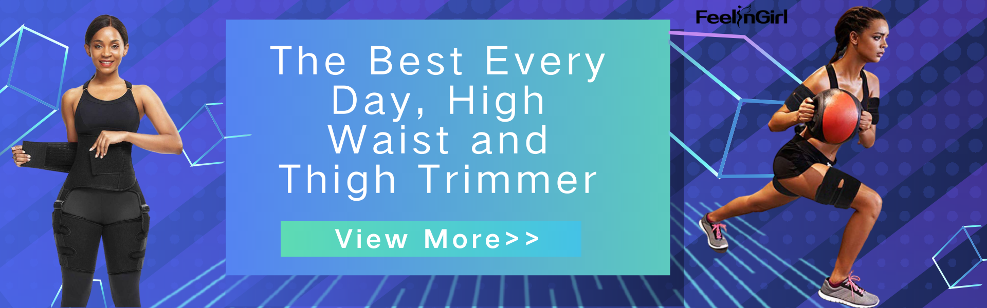 The Best Every Day, High Waist and Thigh Trimmer