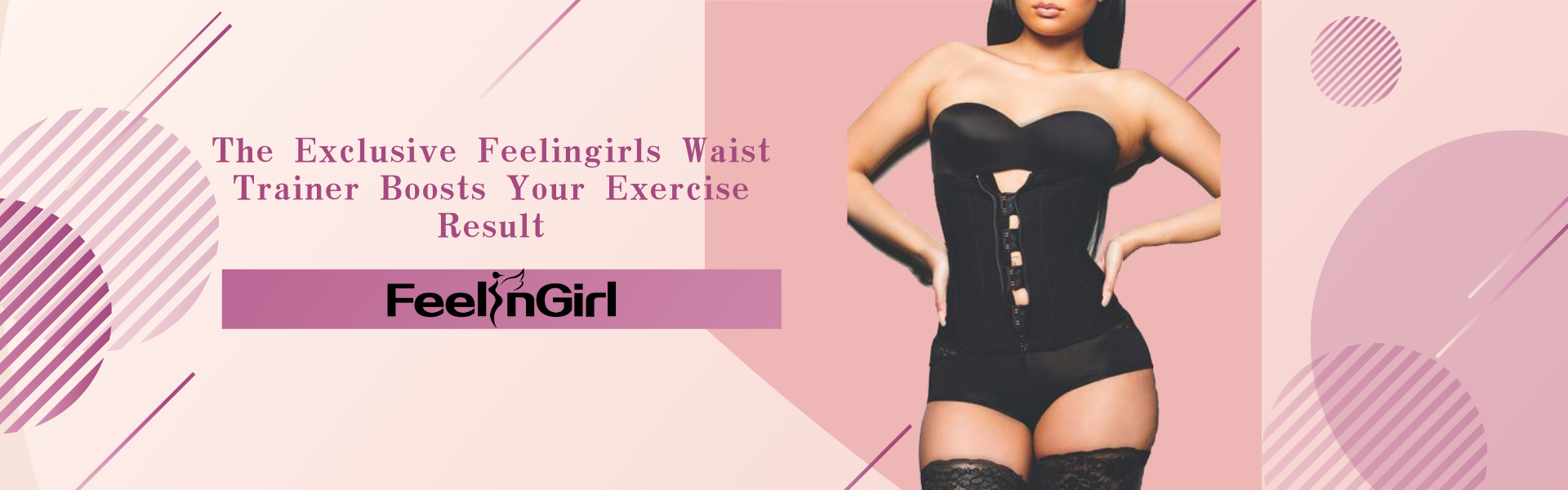 The Exclusive Feelingirls Waist Trainer Boosts Your Exercise Result