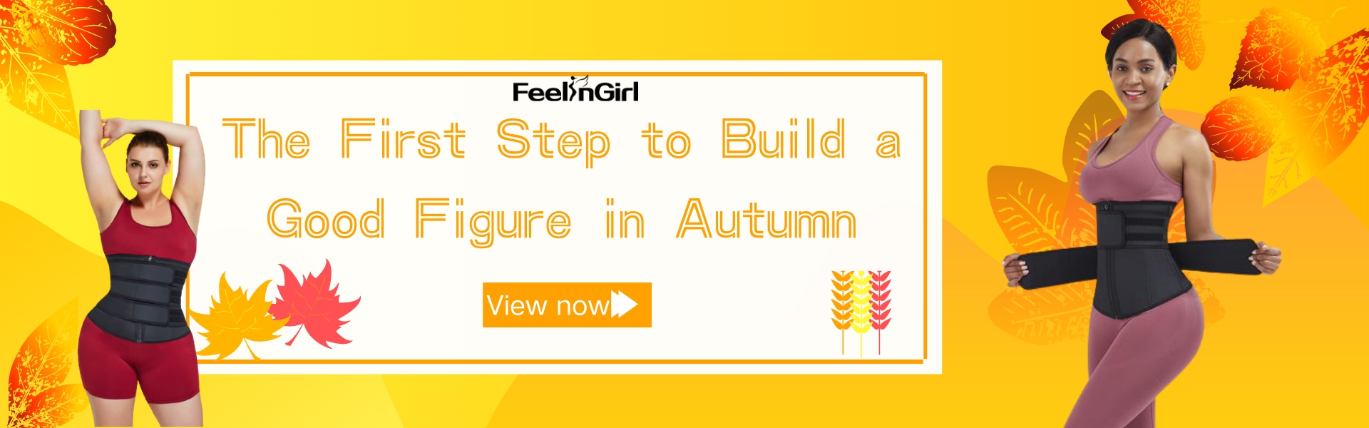 The First Step to Build a Good Figure in Autumn