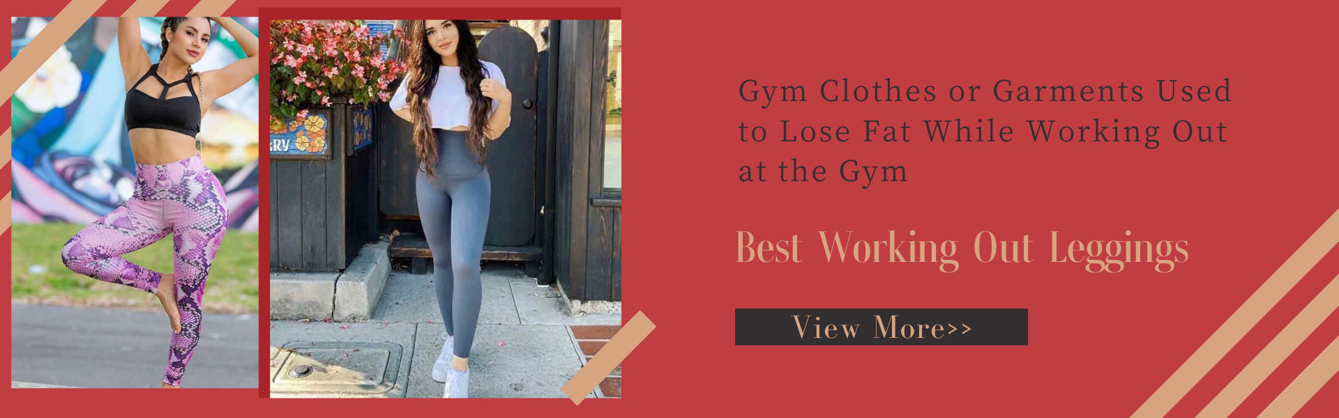 Gym Clothes or Garments Used to Lose Fat While Working Out at the Gym