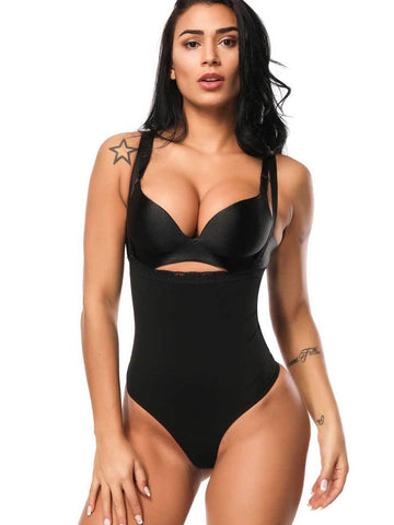 PLUS SIZE SLIMMING BODYSUITS FOR WOMEN THONG SHAPEWEAR