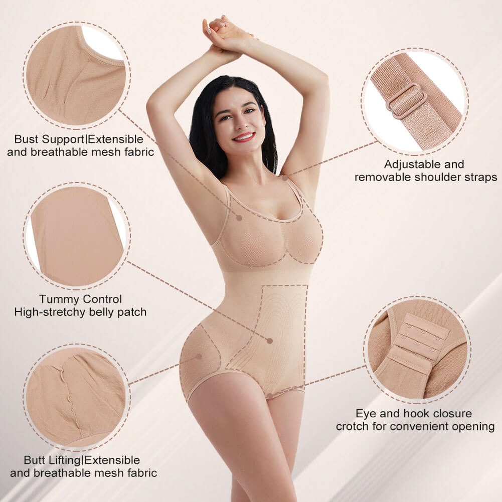FeelinGirl Women Shapewear Bodysuit Underwear