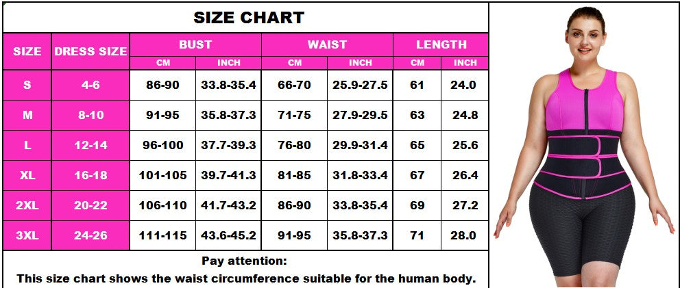 FeelinGirl Women's Waist Trainer Vest Fitness Workout At Home