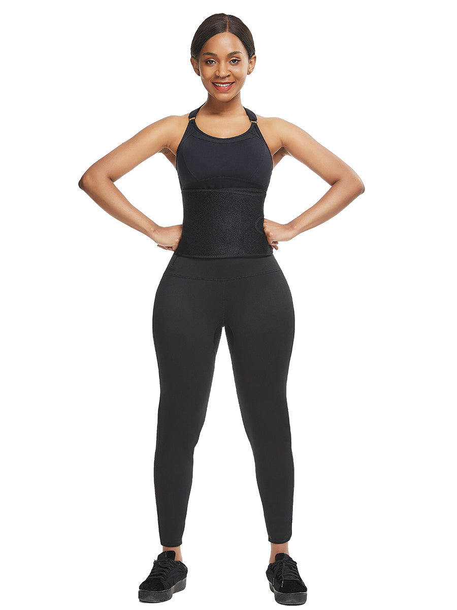 FEELINGIRL HIGH WAIST LEGGINGS WITH WAIST TRAINER